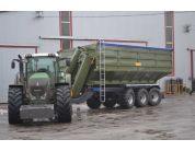 Перевантажувальний бункер-накопичувач ПБН-40 (вантажопідйомність 30,7 т) | t-i-t.com.ua