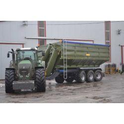 Перевантажувальний бункер-накопичувач ПБН-40 (вантажопідйомність 33 т)