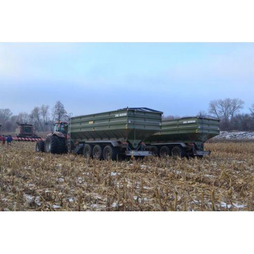 Перевантажувальний бункер-накопичувач ПБН-40 (вантажопідйомність 33 т) | t-i-t.com.ua