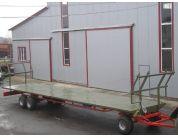 Причіп-платформа для перевезення рулонів і тюків ПП-12/3, вантажопідйомність 10т | t-i-t.com.ua