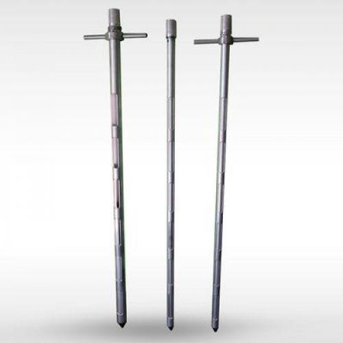 Пробовідбірник коп'євидний алюмінієвий металеві ручки Ø35 довжина 3м | t-i-t.com.ua