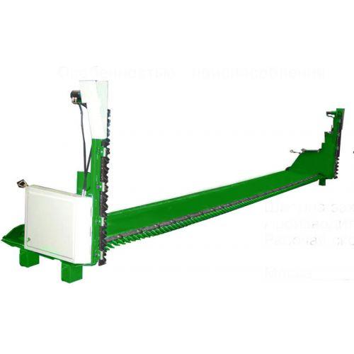 Пристосування для збирання ріпаку ПЗР-6,7-06 з жаткою 622R (європейська збірка) до зернозбиральних комбайнів John Deere | t-i-t.com.ua