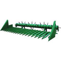 Пристосування для збирання соняшнику ПС-6А С жаткой ЖУ-6 до зернозбиральних комбайнів Дон-1500