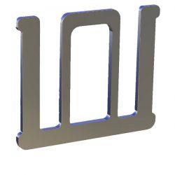 З'єднувач для стрічки шириною 20 мм