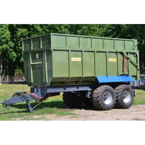 Тракторний самоскидний причеп ТСП-26, вантажопідйомністю 20 т | t-i-t.com.ua