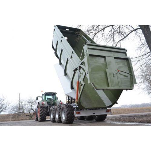 Тракторний самоскидний причіп ТСП-39 (тридем), вантажопідйомність  30 т шини 560/60 R 22,5 | t-i-t.com.ua