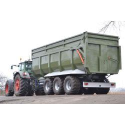 Тракторний самоскидний причіп ТСП-39 (тридем), вантажопідйомність  30 т шини 560/60 R 22,5