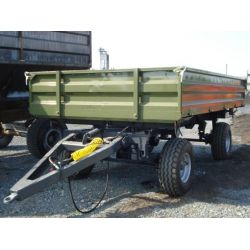 Тракторний самоскидний причіп 2ПТС-8, до МТЗ-80 вантажопідйомністю 6 т. (тандем ADR, Італія), шини 11,5/80 R 15,3 (навантаження 2,43 т при 40 км/год)