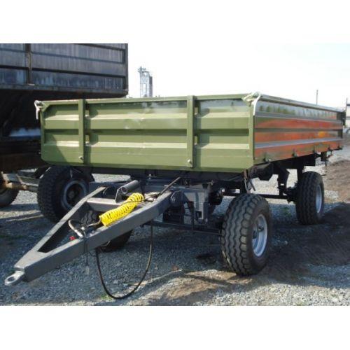 Тракторний самоскидний причіп 2ПТС-8, до МТЗ-80 вантажопідйомністю 6 т. (тандем ADR, Італія), шини 11,5/80 R 15,3 (навантаження 2,43 т при 40 км/год) | t-i-t.com.ua