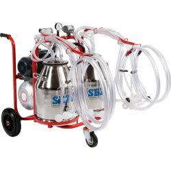 Доїльний апарат  для овець пересувний PLS-4/2 K алюмінієве відро 152 007 020