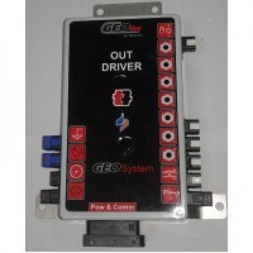 Комп'ютер Geoline-250  (система автоматичного керування для обприскувачів, 7 секцій) | t-i-t.com.ua